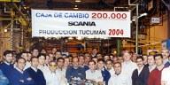 Caja de cambios N° 200.000 producida en Tucumán